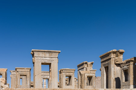 persia: Ancient ruins of Persepolis, the most important city of old Persia. Iran, 2016