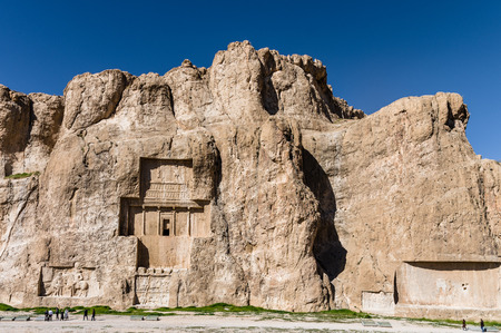 Ancient ruins of Persepolis, the most important city of old Persia. Iran, 2016