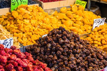 Scene from a traditional bazaar in Tehran, Iran