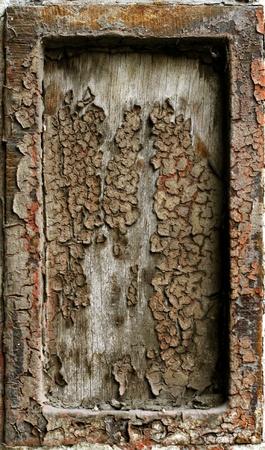 oxidado: Resumen de antecedentes de armazón de metal oxidado grunge