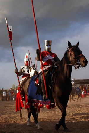 The horse knights photo