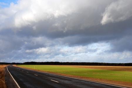 paysage: Road