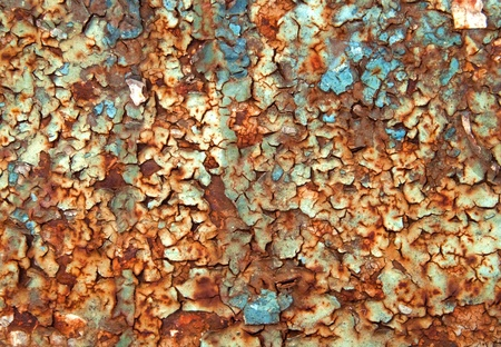Corrosion metal background Stock Photo