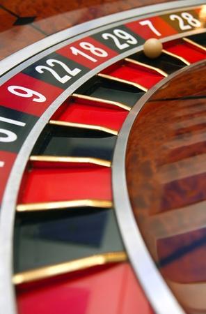Roulette wheel photo