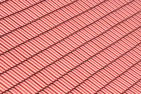 Red roofing background photo