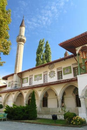 Khan's palace in Bakhchisaray in Crimea, Ukraine Stock Photo - 19319281