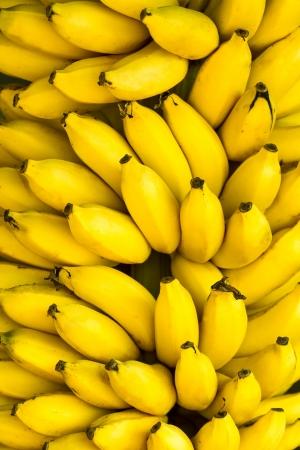 banane: Bouquet de bananes m�res fond