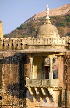jagmandir: Palace of the Amber Fort near Jaipur, Rajasthan, India