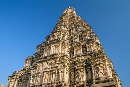 Virupaksha Temple in Hampi, Karnataka, India photo