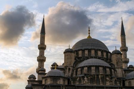 cami: New Mosque (Yeni Cami) in Eminonu district of Istanbul, Turkey Stock Photo