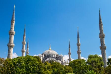 camii: The Blue Mosque (Sultanahmet Camii), Istanbul, Turkey