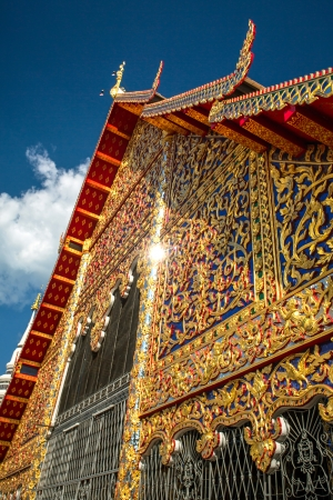 Wat Suan Dok temple in Chiang Mai, Thailand photo