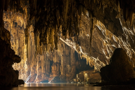 Beautiful Lod cave in Sappong, Northern Thailand Stok Fotoğraf
