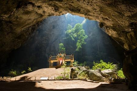 phraya: Royal pavilion in the Phraya Nakhon Cave, Prachuap Khiri Khan, Thailand Stock Photo
