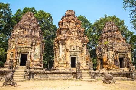 angkor wat: Preah Ko temple in Angkor Wat complex, Siem Reap, Cambodia Stock Photo