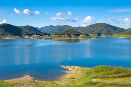 Mae Kuang lake in Thailand photo