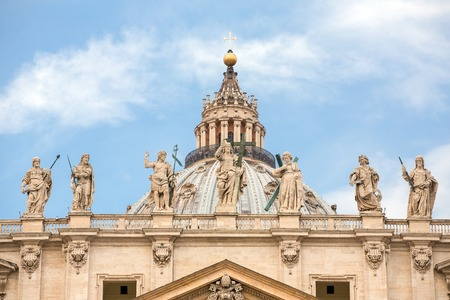 peters: Saint Peters Basilica at St. Peters Square in Vatican, Rome, Italy