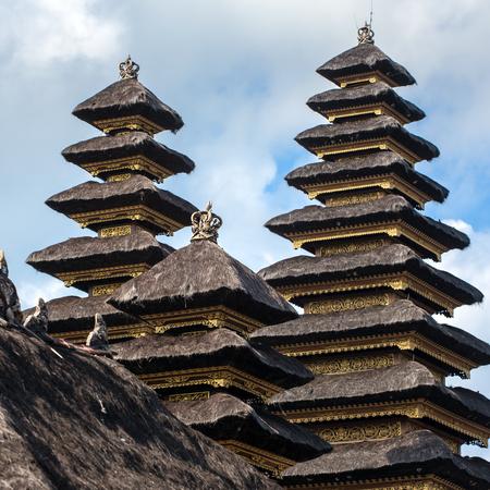pura: Pura Besakih temple, Bali, Indonesia Stock Photo