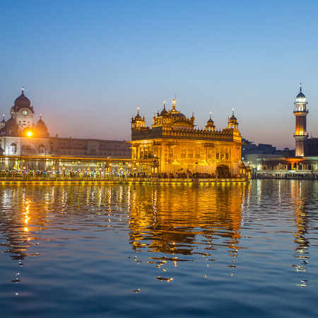 gurudwara: Golden Temple (Harmandir Sahib) in Amritsar, Punjab, India
