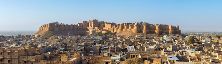 rajasthan: Jaisalmer fort in Rajasthan, India