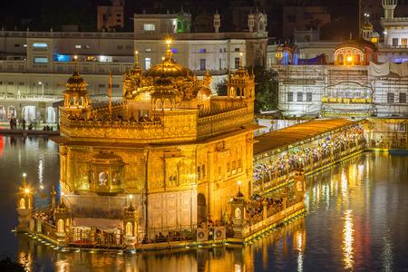darbar: Golden Temple (Harmandir Sahib) in Amritsar, Punjab, India