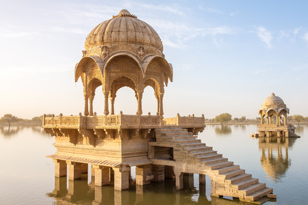 Gadi Sagar - artificial lake in Jaisalmer, Rajasthan, India