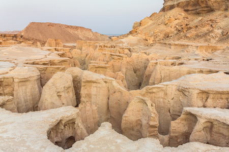 Stars Valley canyon on Qeshm island, Hormozgan, Iran