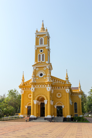 st  joseph: St Joseph Catholic Church in Ayutthaya, Thailand.