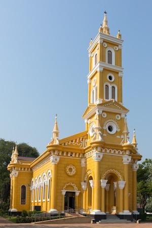St Joseph Catholic Church in Ayutthaya, Thailand.