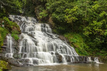 Elephant waterfall in Upper Shillong, Meghalaya, India