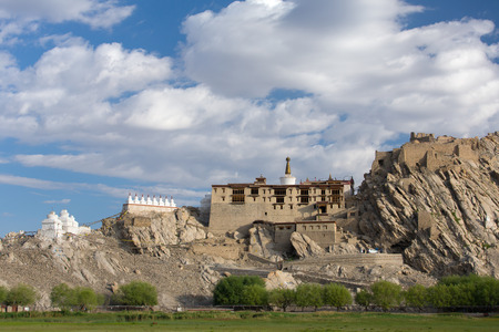 Shey Palace complex in Ladakh region, India.