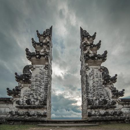 Pura Luhur Lempuyang temple in Bali, Indonesia