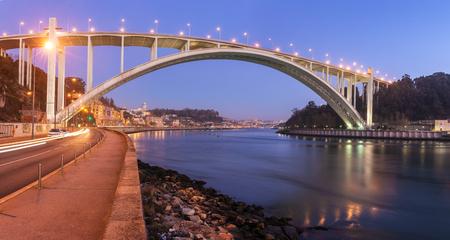 Ponte da Arrabida Bridge in Porto, Portugal
