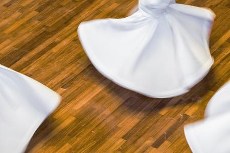 Whirling Dervishes or Semazen in Konya, Turkey