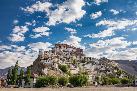 Thiksey monastery in Ladakh, India.