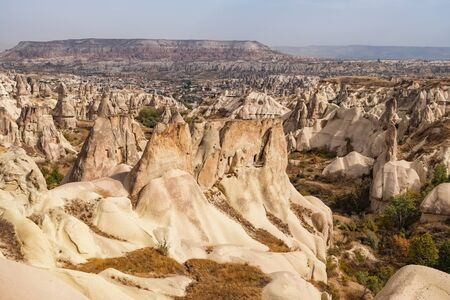 Panorama of the Pigeon valley in Cappadocia