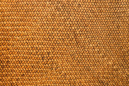 Detail handwerk bamboe weven textuur achtergrond Stockfoto