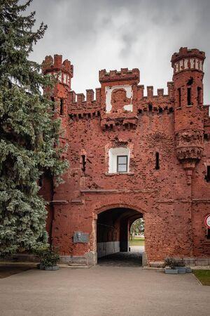 Kholm Gate of the Brest Fortress, Belarus