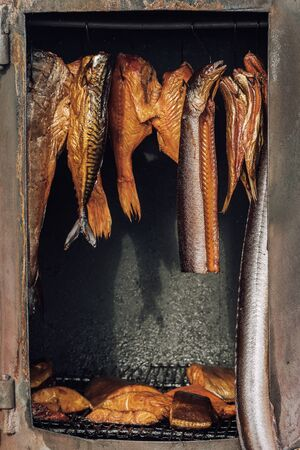 Smoked fish in traditional polish cuisine Stock fotó