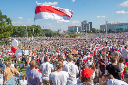 Biggest peaceful protest demonstrations in modern history of Belarus