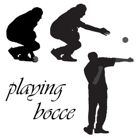 Bocce, gioco della palla Francese
