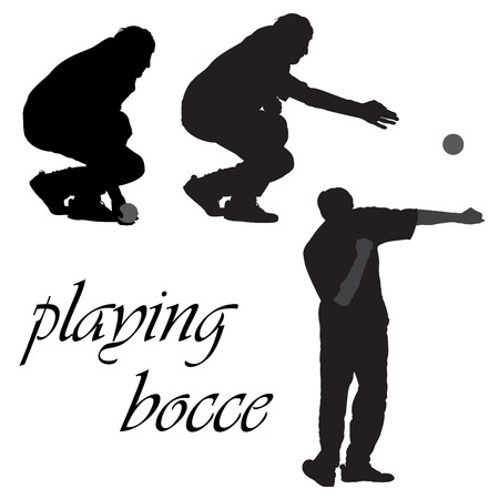 Petanca, juego de pelota Francés