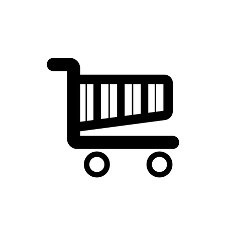 shopping cart icon: Shopping Cart Icon - Vector