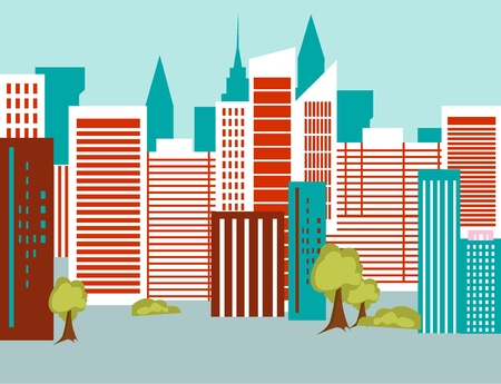 city background: Background city