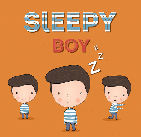 the hangover: Sleepy boy