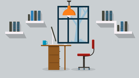 Office modern Vector