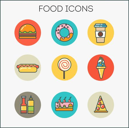 food icons: food icons