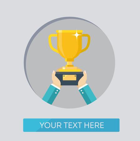 achievable: Business color icons. Achievable