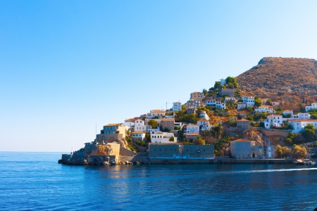 Hydra Island Saronikos Gulf Greece