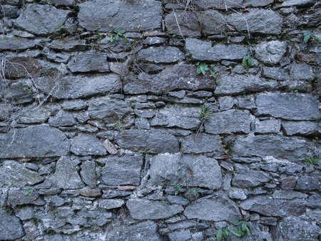 Wall of concrete at Castle Ruin Schaunburg, located in Austria Stock Photo - 13110164